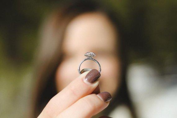 Pierścionek Zaręczynowy Tiffany Duży Z Diamentem 4ggpl